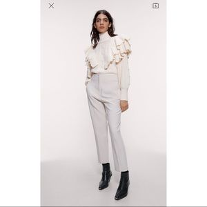 Zara High Waisted Pant